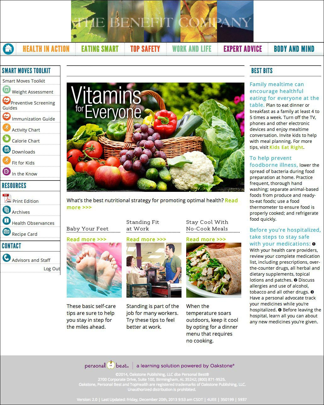 Wellness Newsletter - Power of Healthy Living