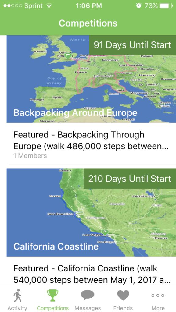 walker tracker challenge