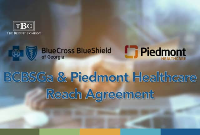 BCBSGa & Piedmont Healthcare Reach Agreement