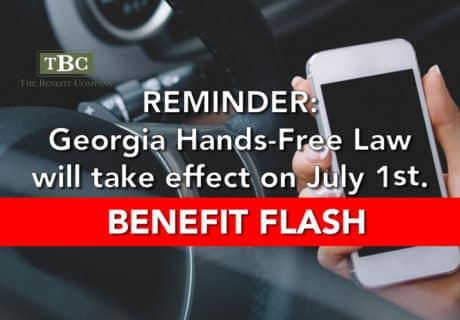 Georgia Hands Free Law